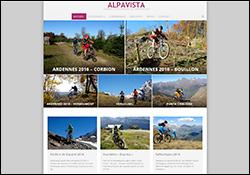 Page d'accueil de la version 6